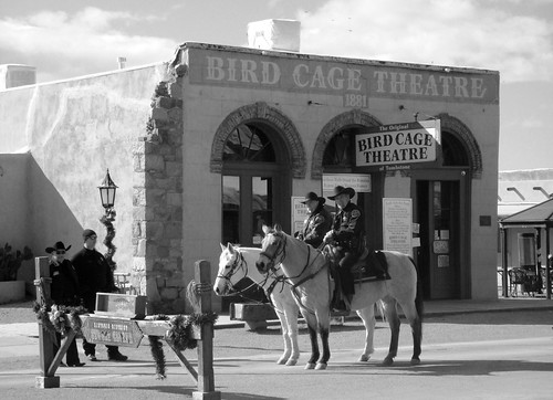 The Bird Cage Theater in the past