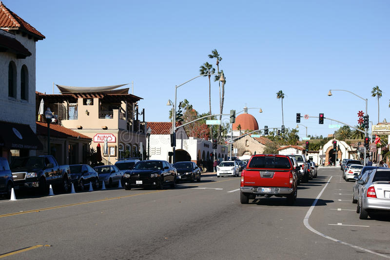 A photo of the main road in San Juan Capistrano