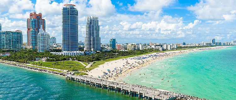 A scenic view of Florida