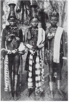 An undated photo of Igbo women