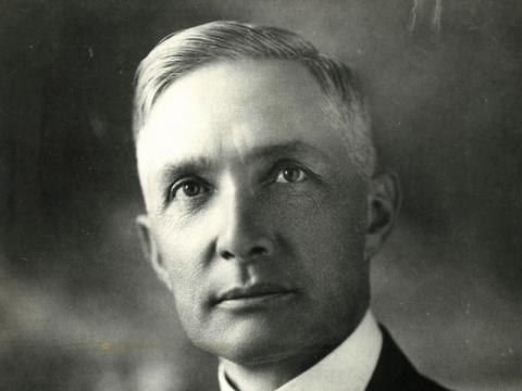An undated photo of Thomas Rowe