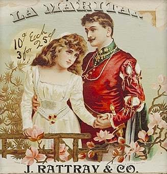 An advertisement for the 'Maritana' opera