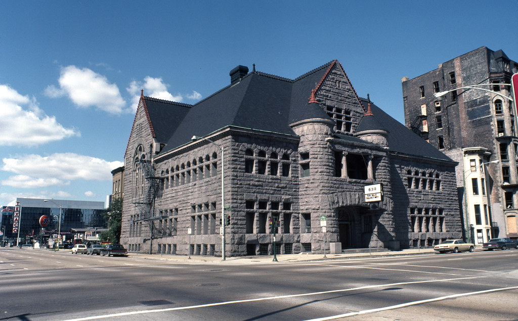 A photo of the Former Chicago Historical Society Building