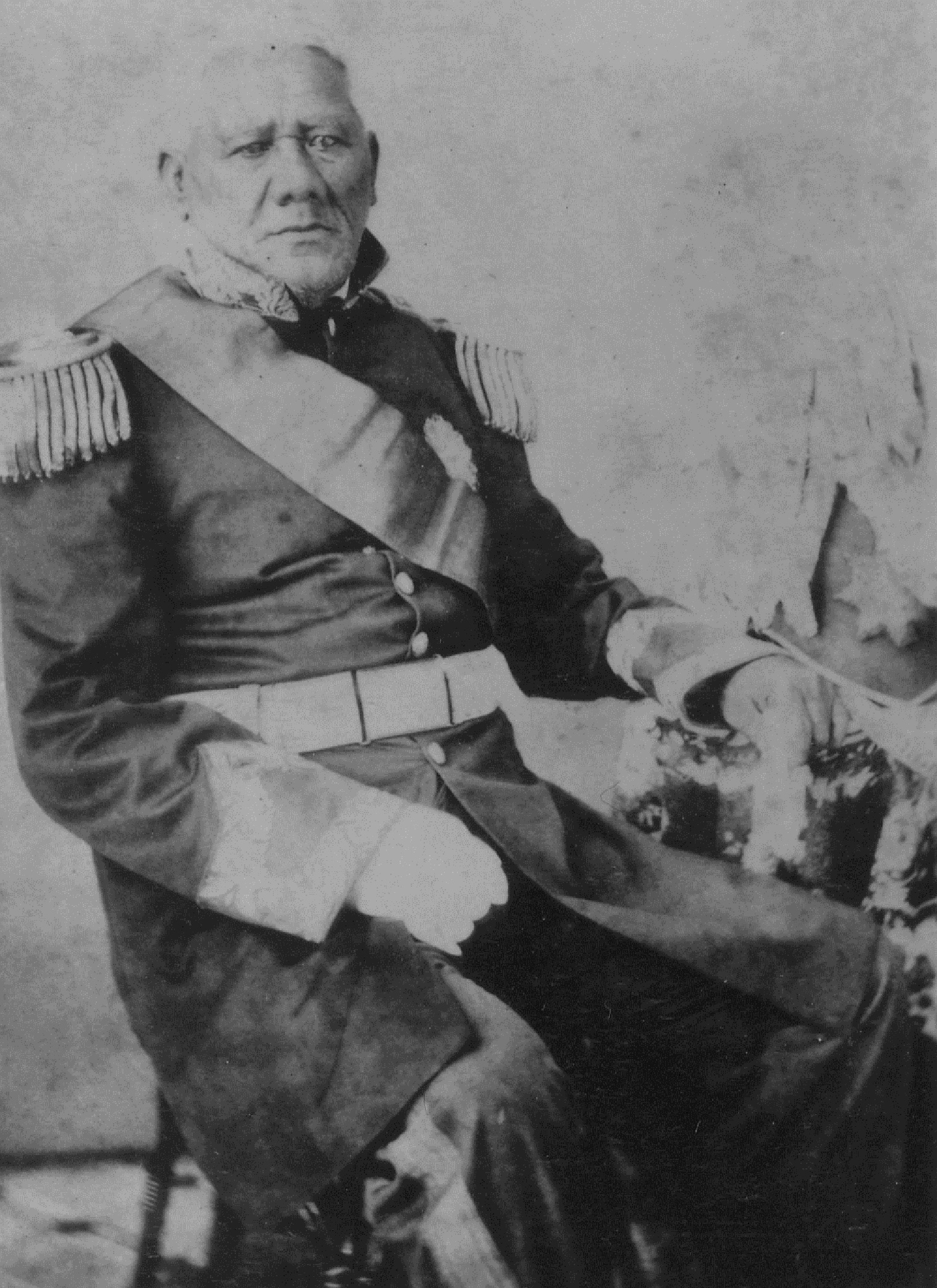Mataio Kekuanaoa in an undated photo, who built the original 'Iolani Palace for his daughter