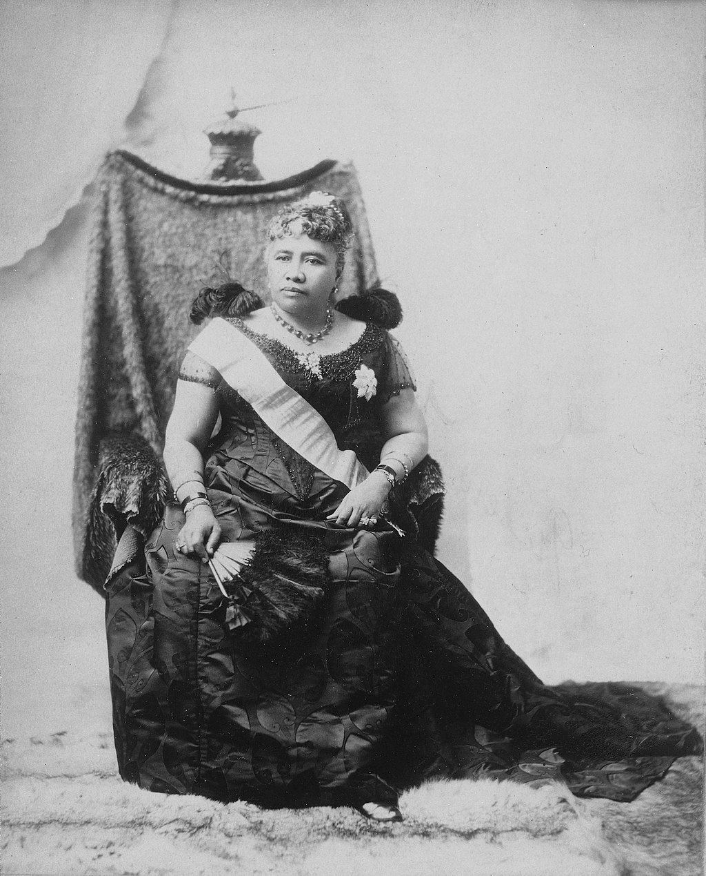 Queen Lili 'uokalani in an undated snap