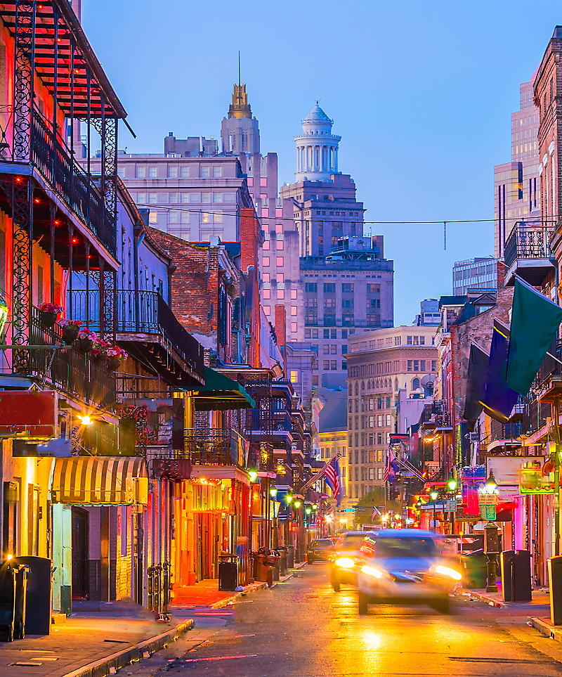 A photo of the usual scene in New Orleans, Louisiana