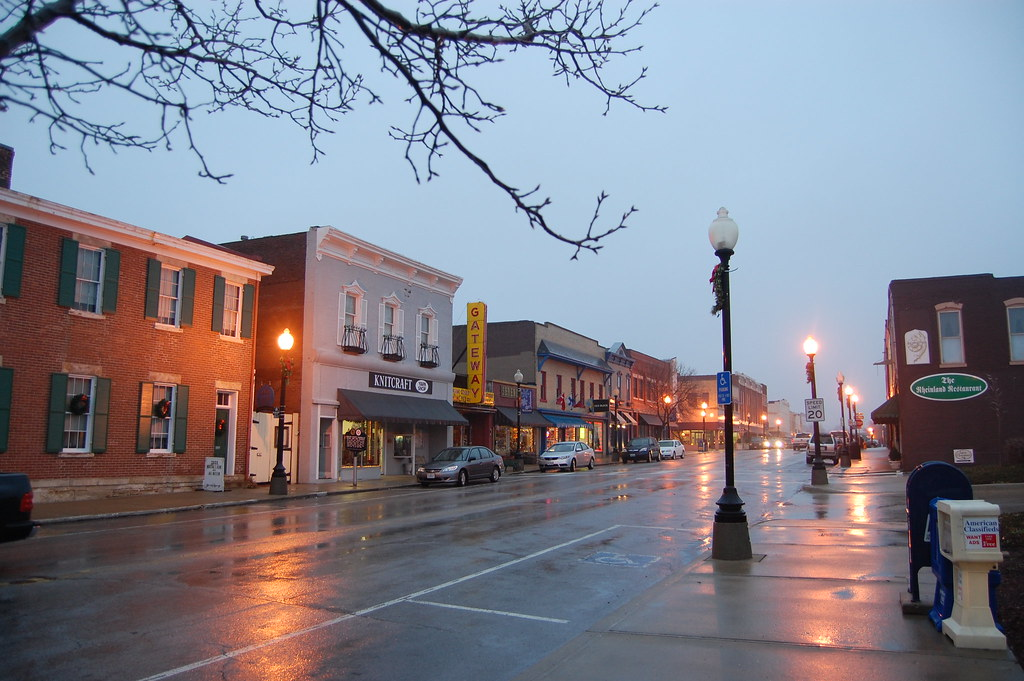 A photo of downtown Independence, Missouri