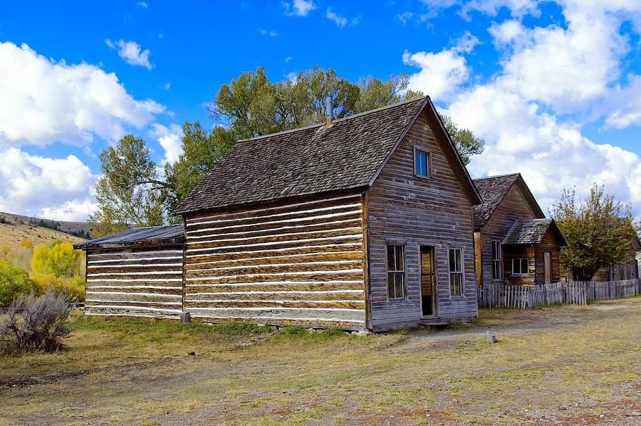 Bessette House in Bannack, Montana
