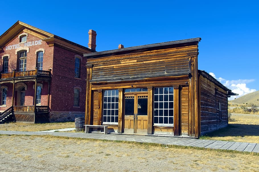 Skinner Saloon in Bannack, Montana