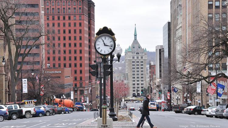 Downtown Albany, New York