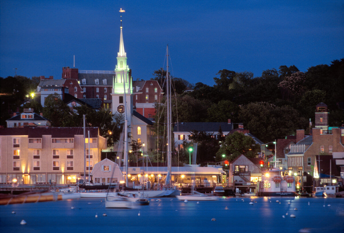 A photo of what you will most likely see in Newport, Rhode Island