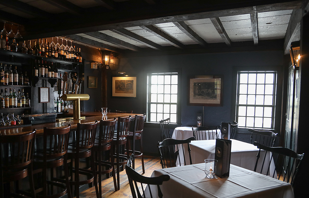 How the White Horse Tavern looks inside