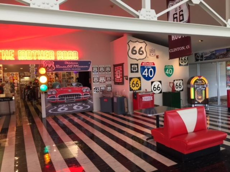 Inside the Oklahoma Route 66 Museum