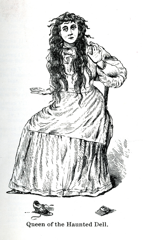 Betsy Bell in an undated illustration