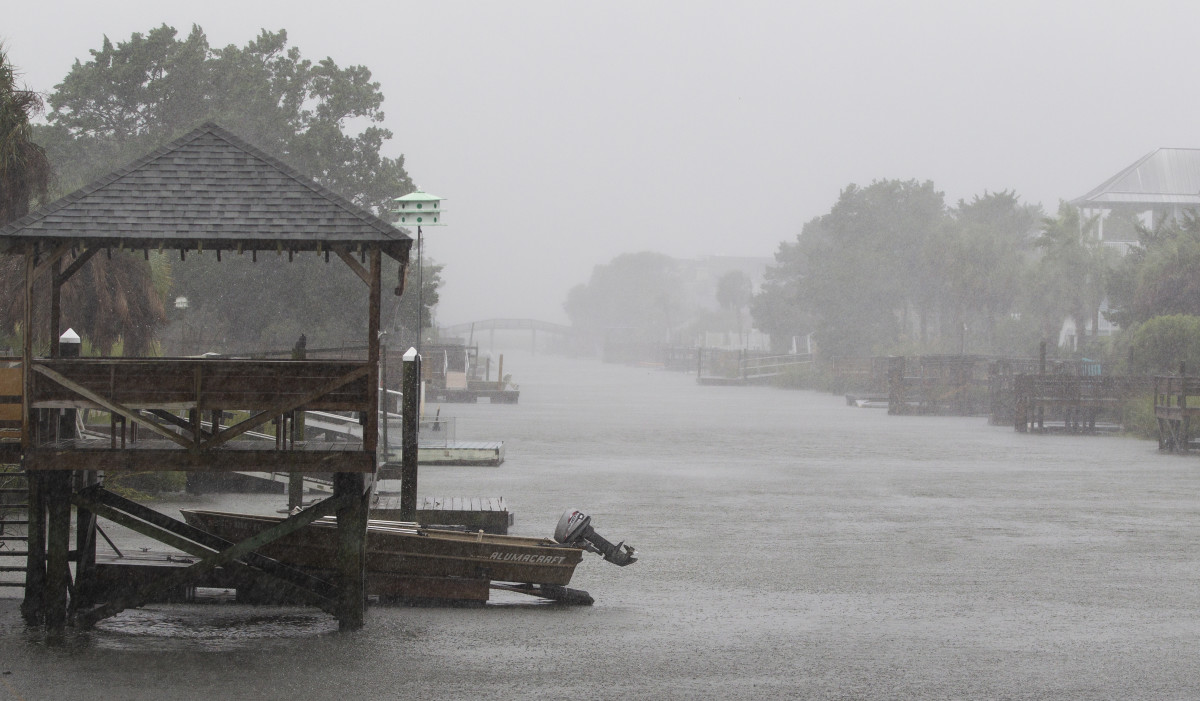 How South Carolina looked like during Hurricane Florence