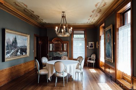 One of the rooms at the Alfred McCune Home