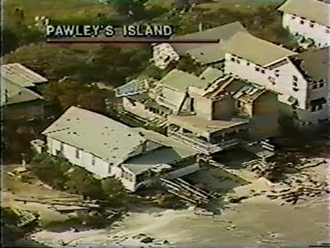 Some of the homes that were destroyed during Hurricane Hugo at Pawleys Island