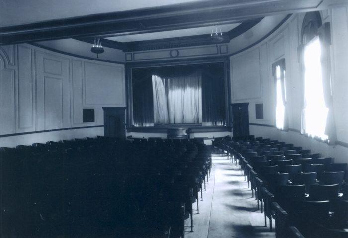 The former auditorium at the Harvard Exit Theatre