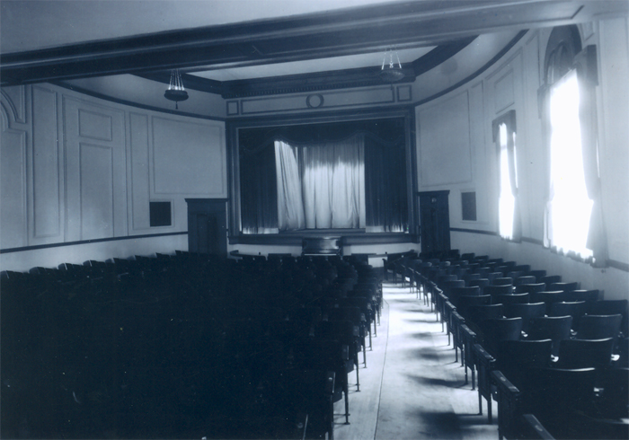 The former auditorium at the Harvard Exit Theatre