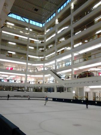 How the Dimond Center looks from the inside